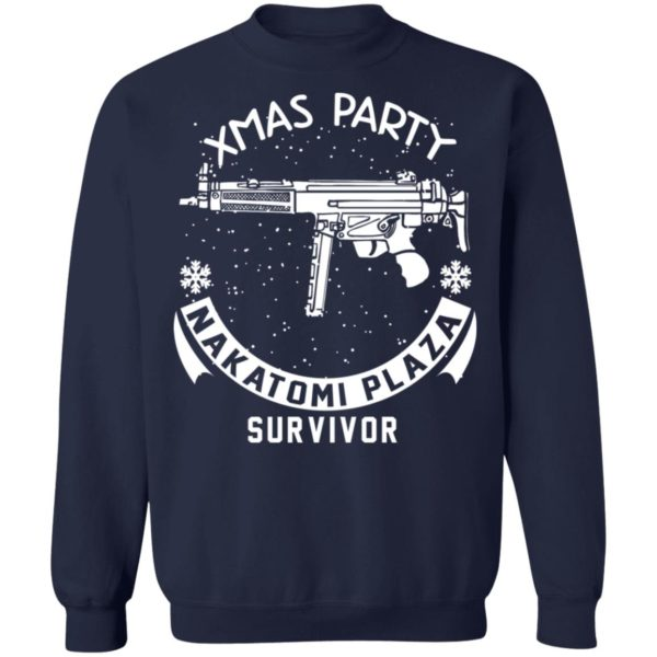 redirect 467 600x600 - Xmas Party Nakatomi Plaza Survivor Christmas sweatshirt