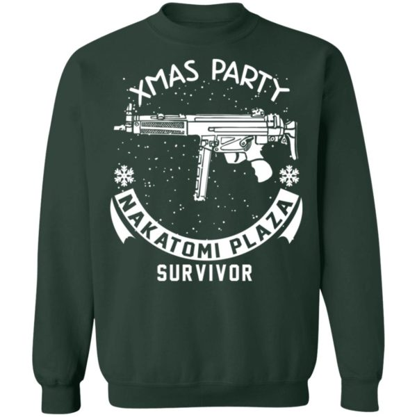 redirect 468 600x600 - Xmas Party Nakatomi Plaza Survivor Christmas sweatshirt