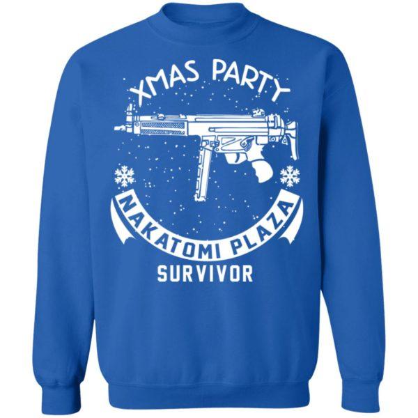 redirect 469 600x600 - Xmas Party Nakatomi Plaza Survivor Christmas sweatshirt