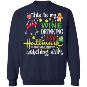 redirect 810 300x300 - This is my wine drinking and Hallmark Christmas movies watching shirt