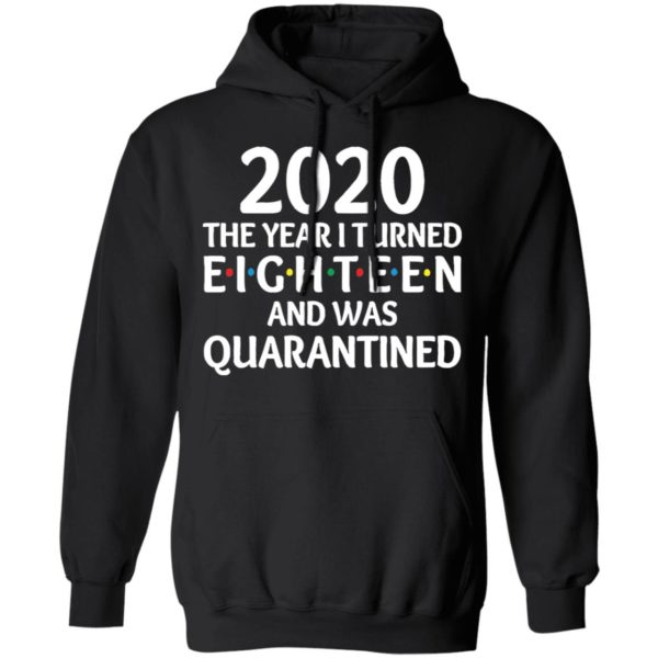 redirect11172020201152 6 600x600 - 2020 the year I turned eighteen and was quarantined shirt