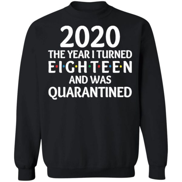 redirect11172020201152 8 600x600 - 2020 the year I turned eighteen and was quarantined shirt