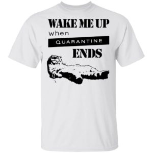 redirect11242020041124 300x300 - Tired cat says wake me up when quarantine ends shirt