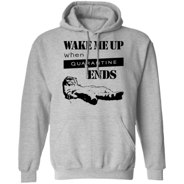 redirect11242020041125 4 600x600 - Tired cat says wake me up when quarantine ends shirt
