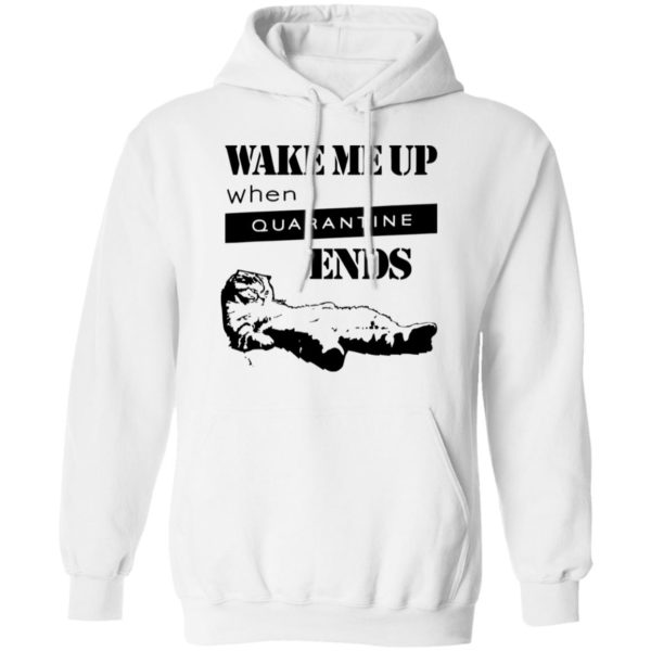redirect11242020041125 5 600x600 - Tired cat says wake me up when quarantine ends shirt