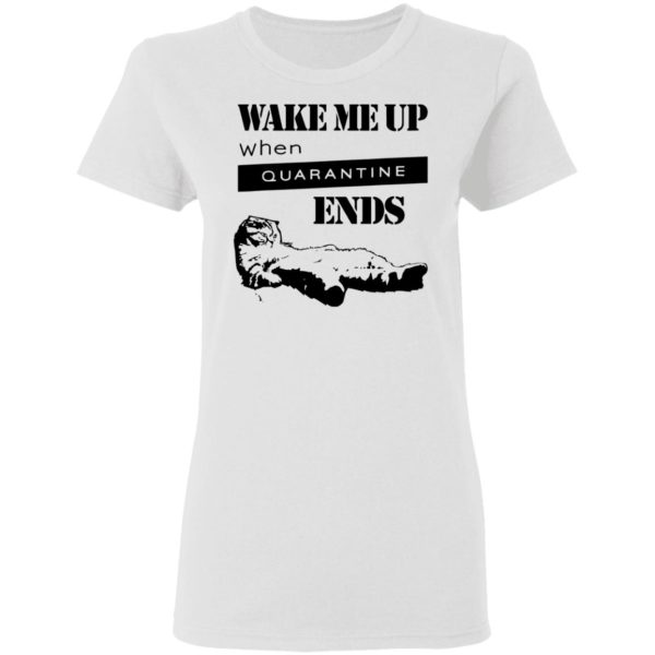 redirect11242020041125 600x600 - Tired cat says wake me up when quarantine ends shirt