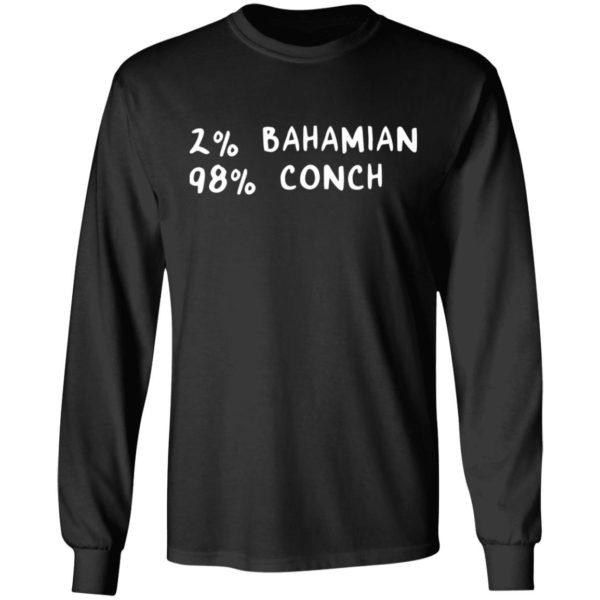redirect11242020041131 2 600x600 - 2% Bahamian 98% Conch shirt