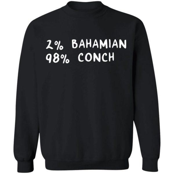 redirect11242020041132 2 600x600 - 2% Bahamian 98% Conch shirt