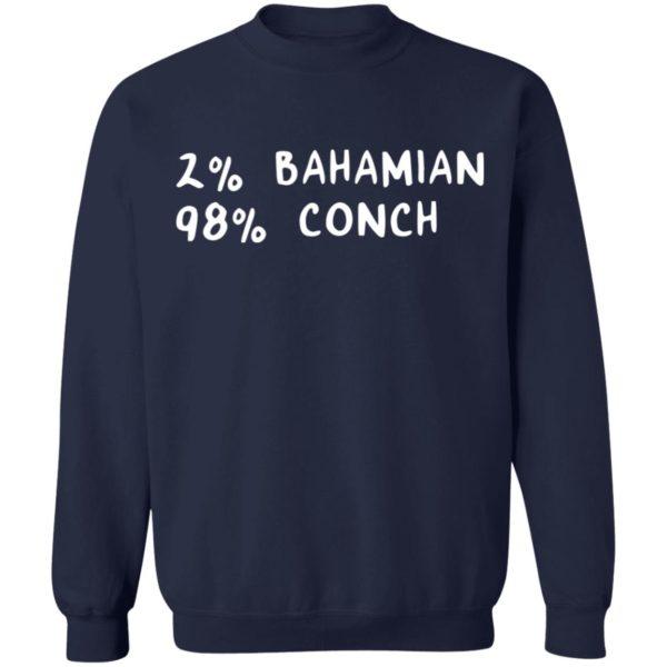 redirect11242020041132 3 600x600 - 2% Bahamian 98% Conch shirt