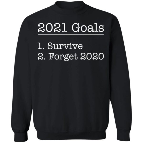 redirect12172020031244 8 600x600 - 2021 goals survive forget 2020 shirt