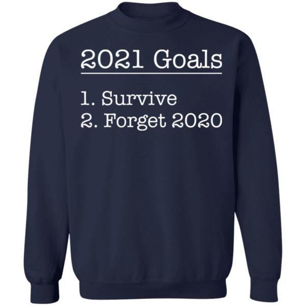 redirect12172020031244 9 600x600 - 2021 goals survive forget 2020 shirt