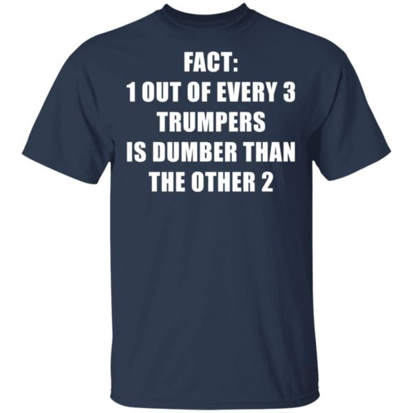 redirect01132021010151 1 600x600 - Fact 1 out of every 3 trumpers is dumber than the other 2 shirt