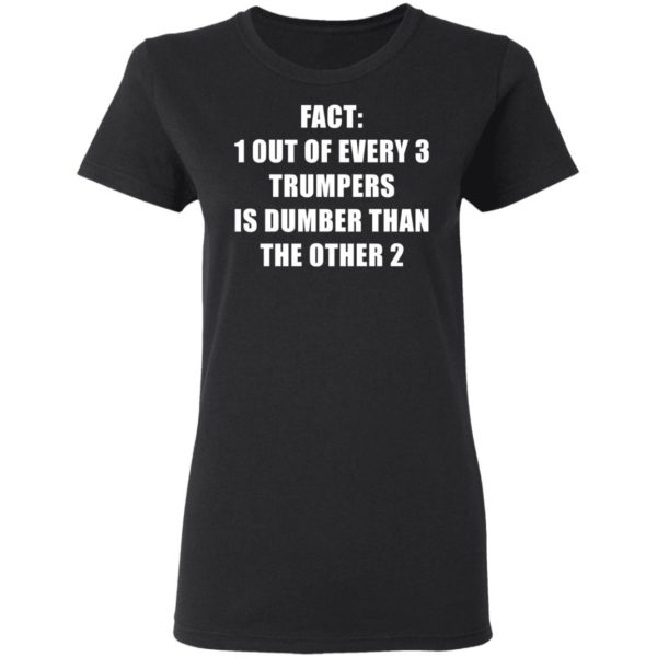 redirect01132021010151 2 600x600 - Fact 1 out of every 3 trumpers is dumber than the other 2 shirt