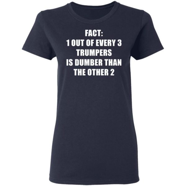 redirect01132021010151 3 600x600 - Fact 1 out of every 3 trumpers is dumber than the other 2 shirt