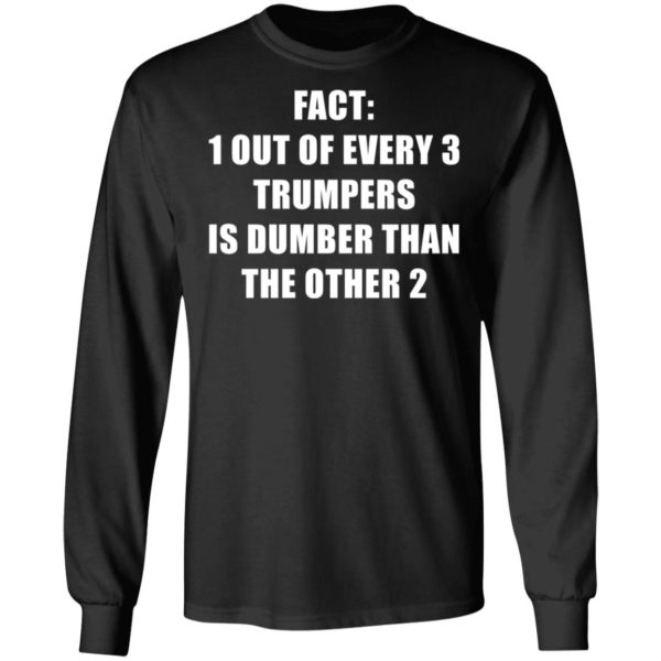 redirect01132021010151 4 600x600 - Fact 1 out of every 3 trumpers is dumber than the other 2 shirt