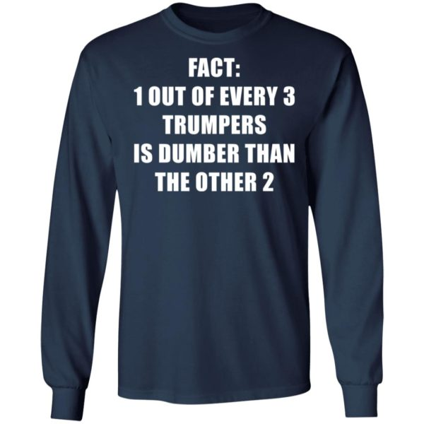 redirect01132021010151 5 600x600 - Fact 1 out of every 3 trumpers is dumber than the other 2 shirt