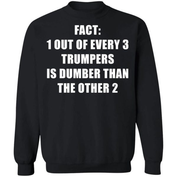 redirect01132021010151 8 600x600 - Fact 1 out of every 3 trumpers is dumber than the other 2 shirt
