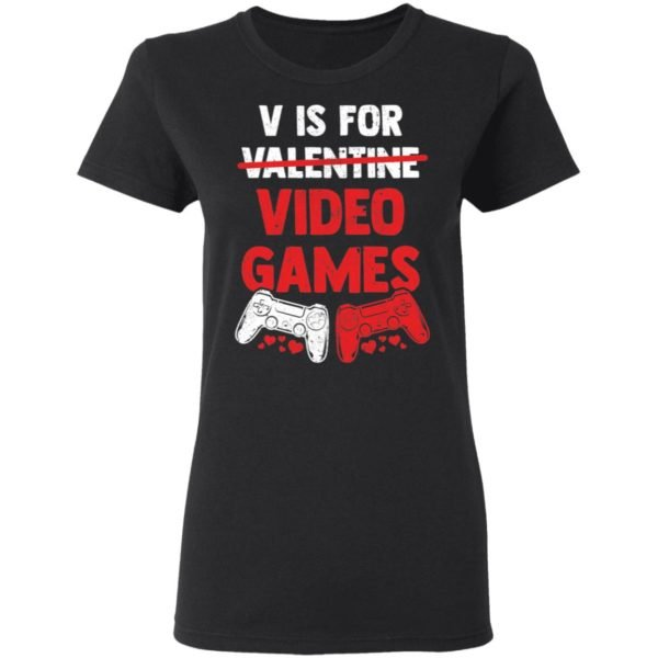 redirect01192021010122 2 600x600 - V is for valentine video games shirt