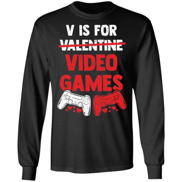 redirect01192021010122 4 600x600 - V is for valentine video games shirt