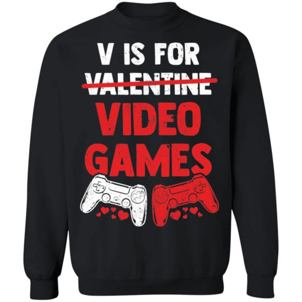 redirect01192021010122 8 600x600 - V is for valentine video games shirt