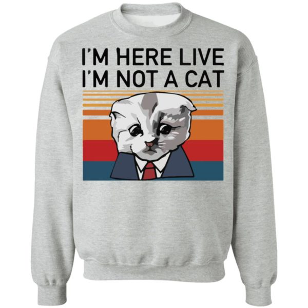 redirect02232021030205 8 600x600 - I'm here live I'm not a cat vintage shirt