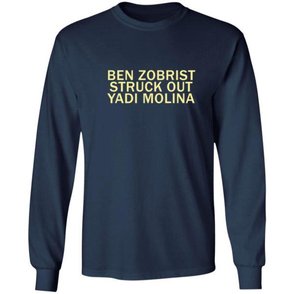 redirect04072021000407 5 600x600 - Ben Zobrist struck out Yadi Molina shirt
