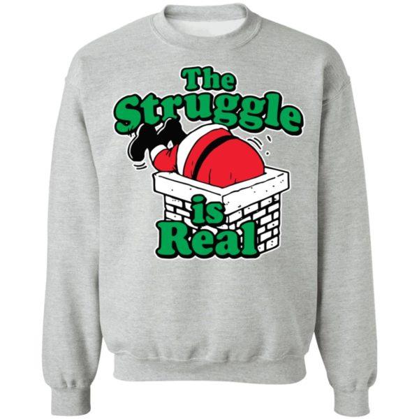 redirect10092021081025 2 600x600 - Santa the struggle is real shirt