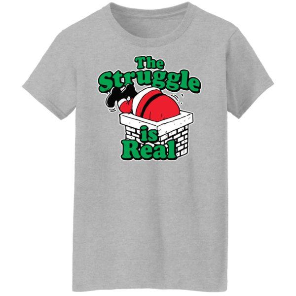 redirect10092021081025 7 600x600 - Santa the struggle is real shirt